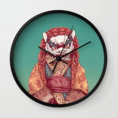 Imperial Guardian Lady Wall Clock