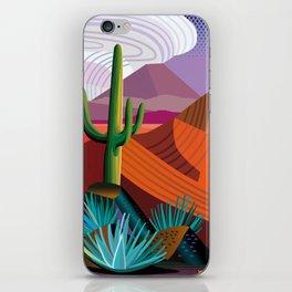 Thunderhead Builds in Arizona Desert iPhone Skin