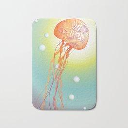 Tertiary Jellyfish Bath Mat