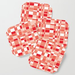 Mod Gingham - Red Coaster
