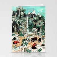canada Stationery Cards featuring Wild Canada by Mathilde George