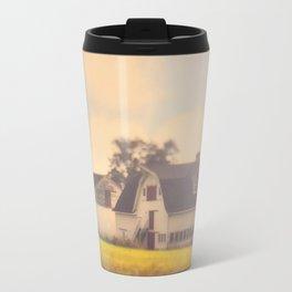 Morning At The Dairy Travel Mug
