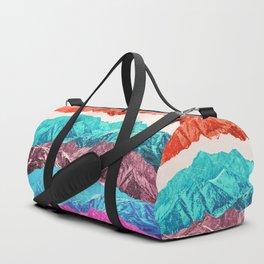 mountain mashup Duffle Bag