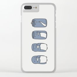 If you think you can Clear iPhone Case
