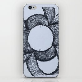 Flor de Barcelona iPhone Skin