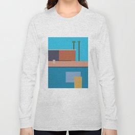 Homage To Hockney Long Sleeve T-shirt