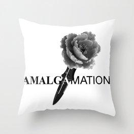 Amalgamation #5 Throw Pillow
