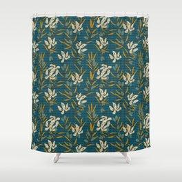 KALI OLIVE Shower Curtain