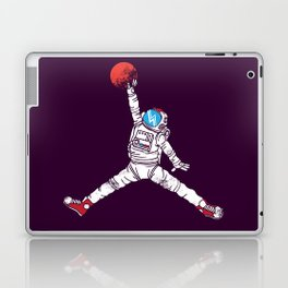 space dunk (purple ver.) Laptop & iPad Skin