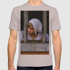 I Want My Freedom (Painted) Mens Fitted Tee SMALL Cinder