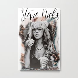 Stevie Nicks T-Shirt Poster , gift for him, gift for her, Music Poster Canvas Wall Art Home Decor Metal Print