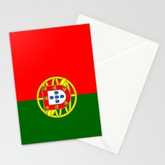 flag of portugal Stationery Cards