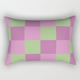 Classic Checked Merlion Rectangular Pillow