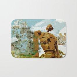 Castle in the Sky * El Castillo en el cielo * Ghibli Inspiration Bath Mat