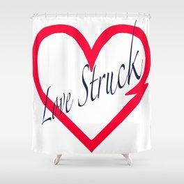 Love Struck Impact Shower Curtain