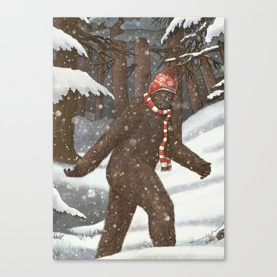 Everyone Gets Cold Canvas Print