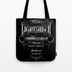 This is my Lightsaber II Tote Bag
