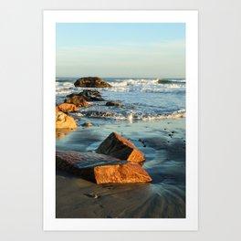 Scarborough Beach - Narragansett, RI Art Print
