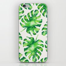 Monstera Leaves iPhone & iPod Skin