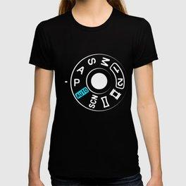 Camera Settings Knob Photography Gift T-shirt