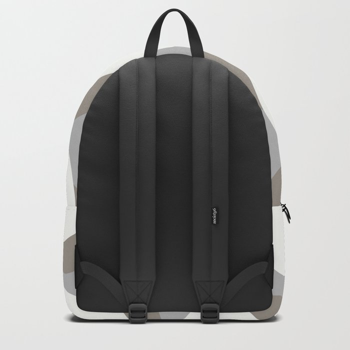 White Balls On A Grey Background #society6 #decor #buyart Backpack
