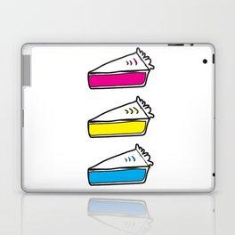 3 Pies - CMYK/White Laptop & iPad Skin