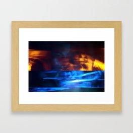 97!tch.-Virus Framed Art Print