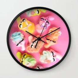 A Bevy of Bouffants Wall Clock