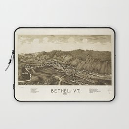 Aerial View of Bethel, Vermont (1886) Laptop Sleeve
