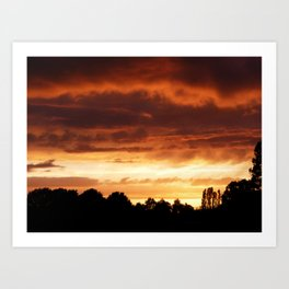 Ever-Changing Sky No1 Art Print