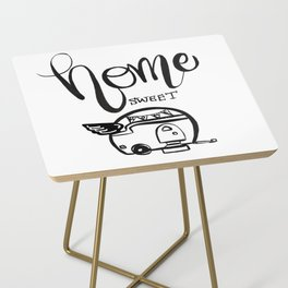 HOME SWEET HOME RV CAMPER Side Table