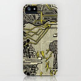 Destructive Nature iPhone Case