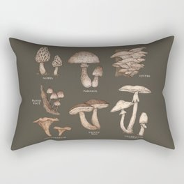 Mushrooms Rectangular Pillow
