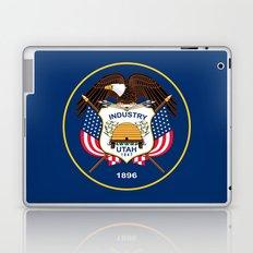 Utah State Flag - Authentic Version Laptop & iPad Skin