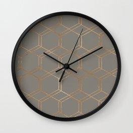 geometric v x iii Wall Clock