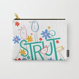 STRUT Spot Word Carry-All Pouch