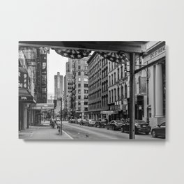 Early morning in TriBeCa of Lower Manhattan in New York City Metal Print