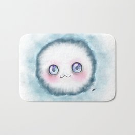 fluffy kawaii Bath Mat