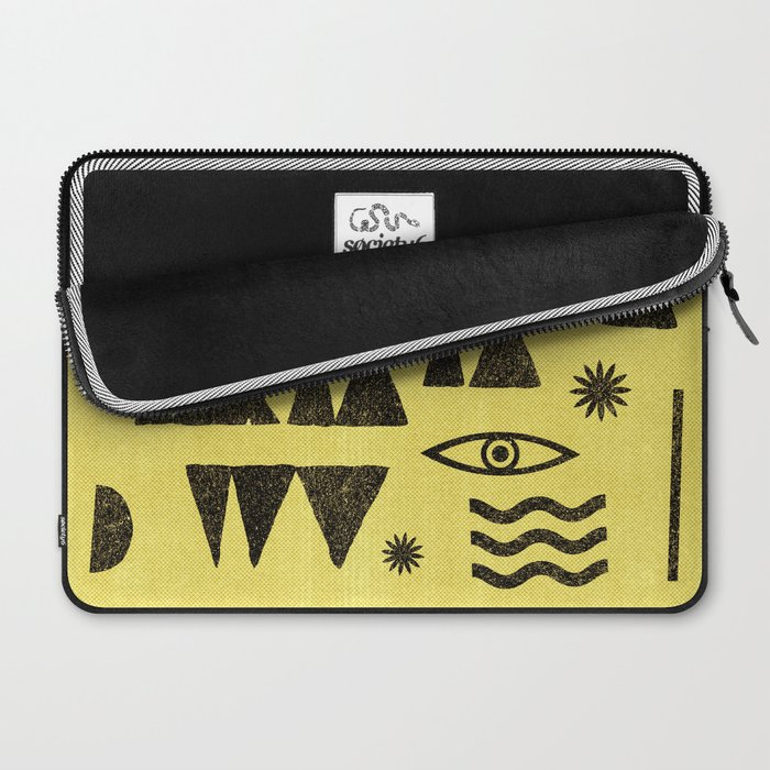 Tangential Paralysis. Laptop Sleeve