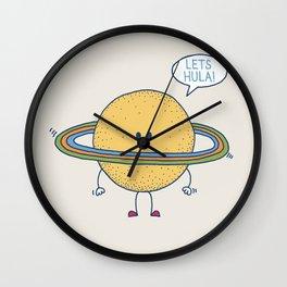 Lets Hula Wall Clock