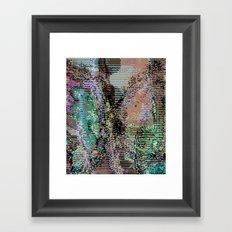 bad frame_1 Framed Art Print