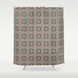 Palestine border Shower Curtain