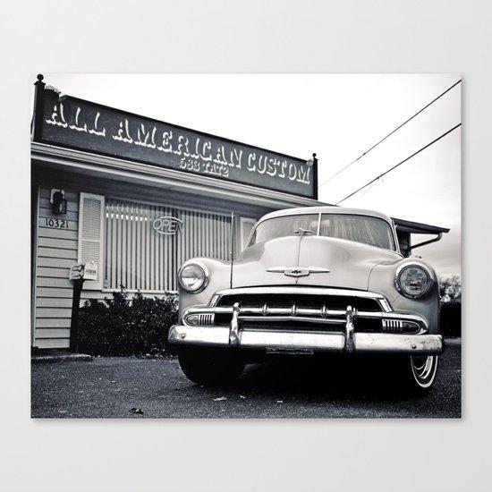 American style Canvas Print