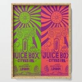 Juice Box IPA Serving Tray