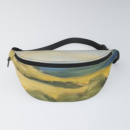 original abstract imagined landscape number 5 Fanny Pack