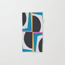 Modern Geometric 65 Blue Hand & Bath Towel
