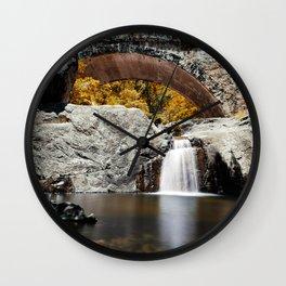Little Crystal Creek Bridge Wall Clock