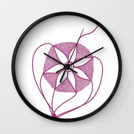 Pretty in Pink (Let go!) Wall Clock