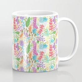 Watercolor Spring Flowers Coffee Mug