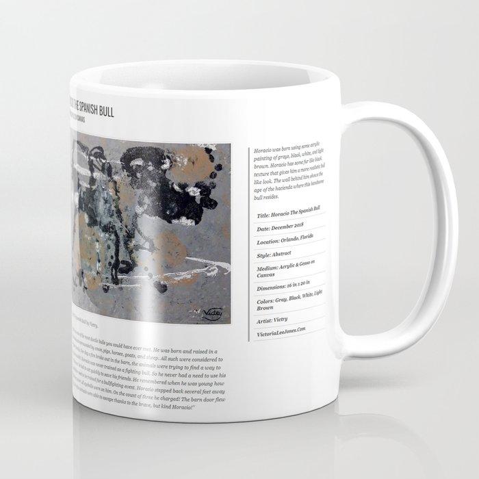 Horacio The Spanish Bull / Art Stories Coffee Mug